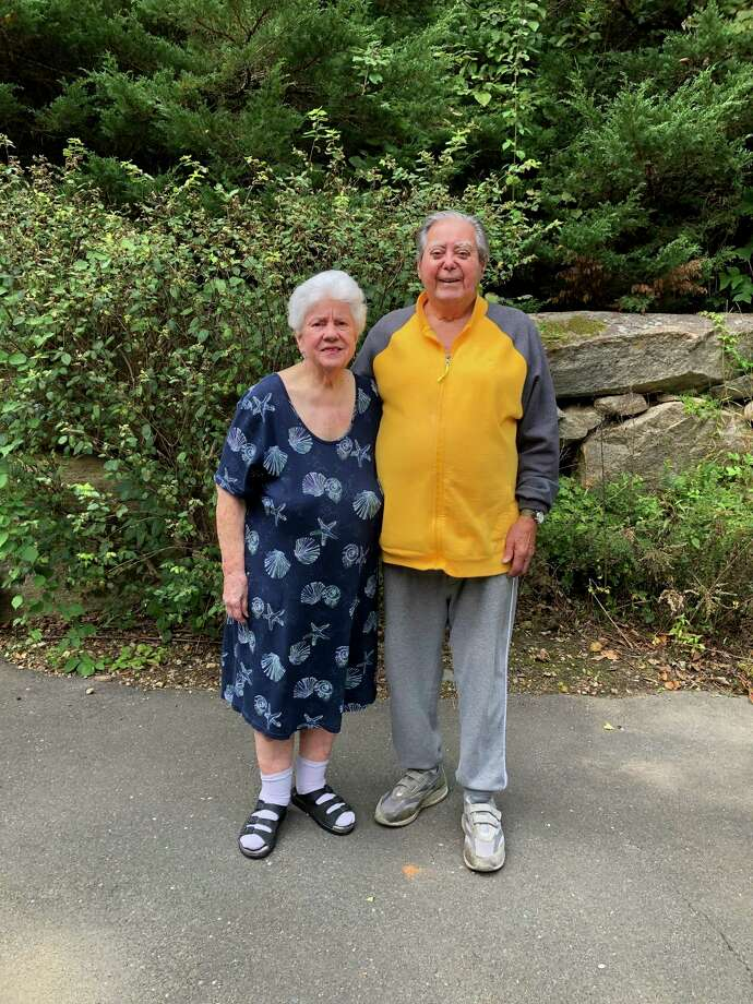 New Canaan residents Jim and Levora D'Acosta celebrated 70 years of marriage on Thursday, October 1. Photo: Contributed Photo
