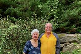 New Canaan residents Jim and Levora D'Acosta celebrated 70 years of marriage on Thursday, October 1.