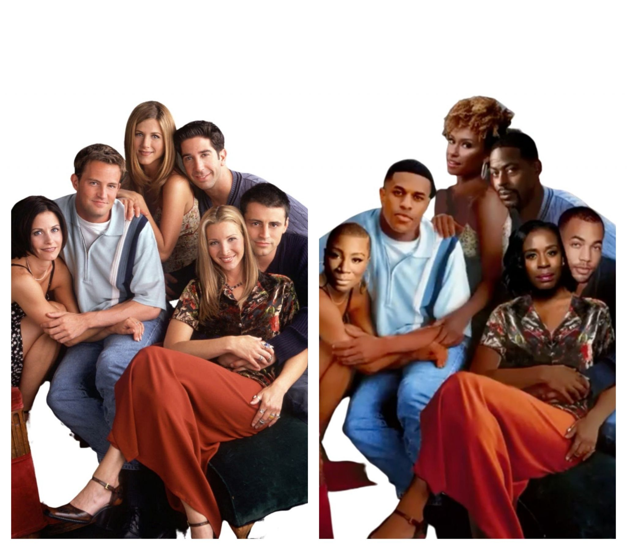 'Friends' gets remixed with all-Black cast for table read