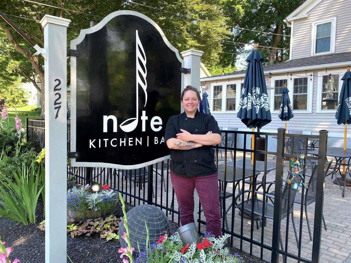 Restaurants, such as Note Kitchen & Bar in Bethel where Calin Sauvron is executive chef. Calin Sauvron, The Note - Bethel Calin Sauvron, the executive chef at Note Kitchen and Bar, was crowned champion on Food Network's