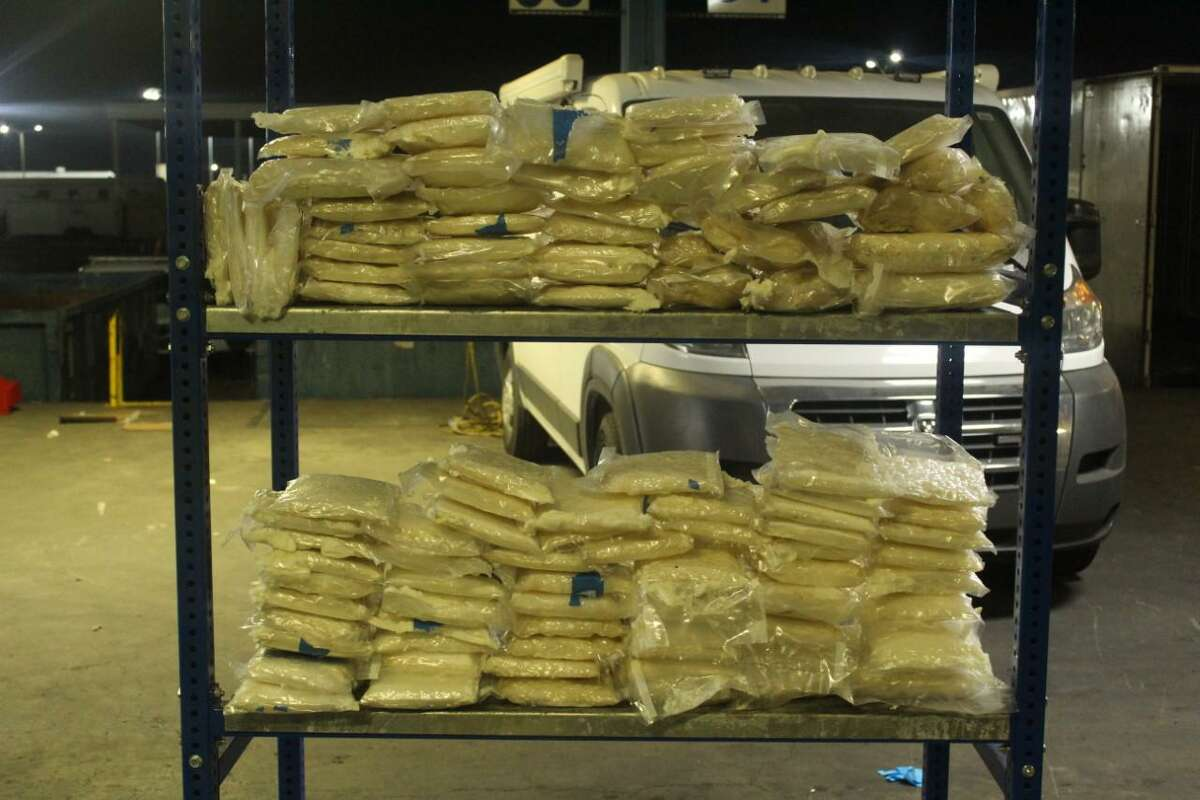 U.S. Customs and Border Protection officers seized these 3.2 million in meth at the World Trade Bridge. Authorities said that the seizure occurred on Friday. The case remains under investigation.