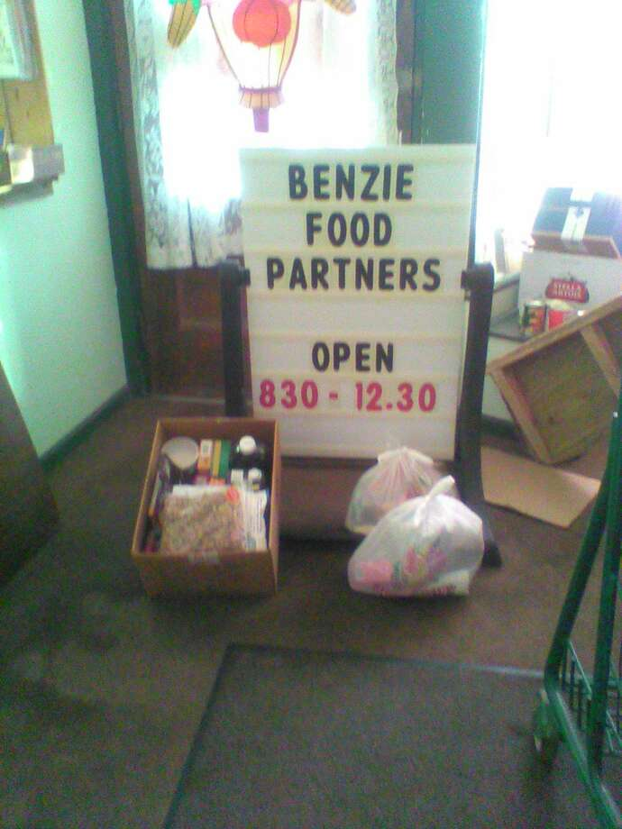 The Benzie Food Partners are exploring new options for keeping volunteers and clients safe when distributing food. (Courtesy photo)