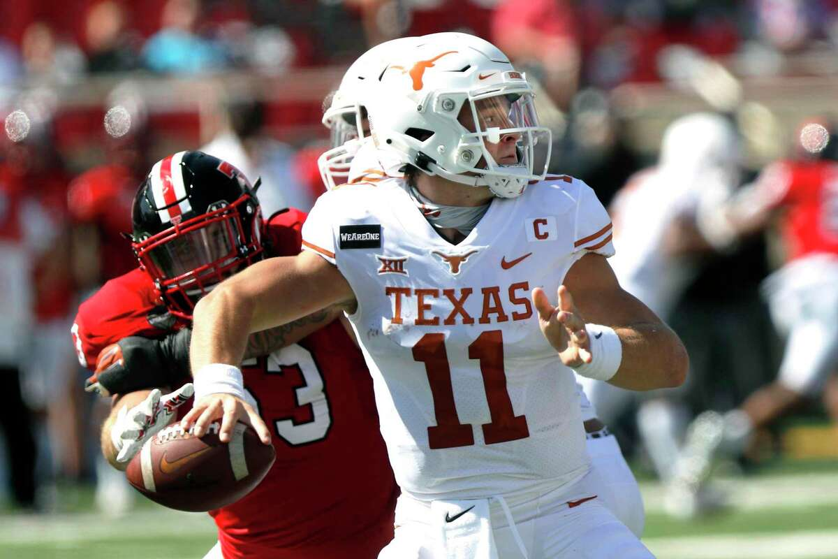 Sam Ehlinger came through in the fourth quarter against Texas Tech after a rough start to second half.