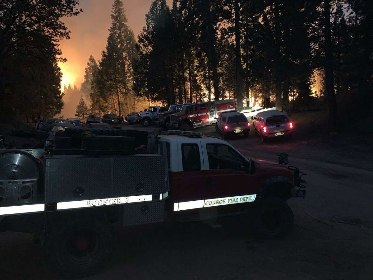 Members of the Conroe Fire Department have been part of a group of Montgomery County firefighters taking on some of the wildfires affecting parts of California during late summer and early fall 2020.