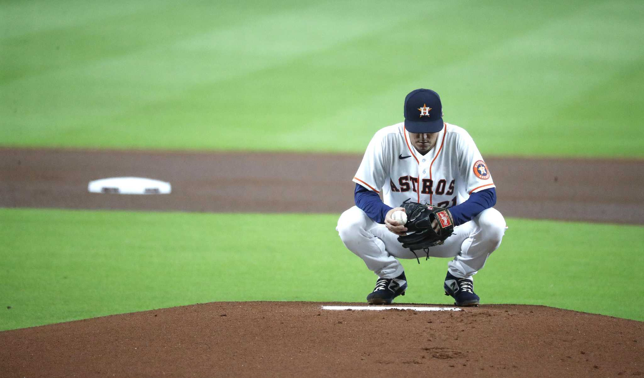 Astros look for improved start from Zack Greinke - HoustonChronicle.com