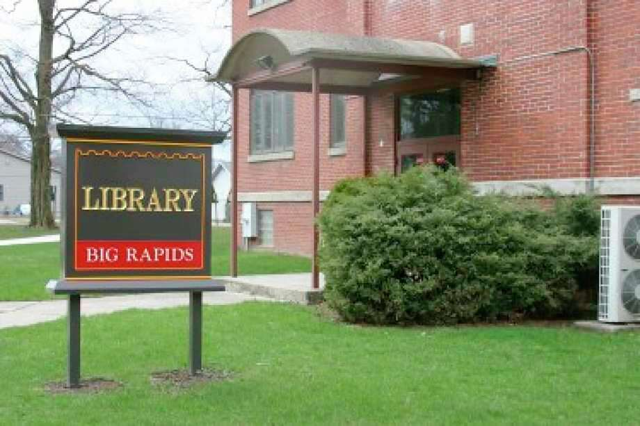 The Big Rapids Community Library is one of about a dozen libraries serving communities throughout Mecosta, Osceola and Lake counties. (Pioneer file photo)