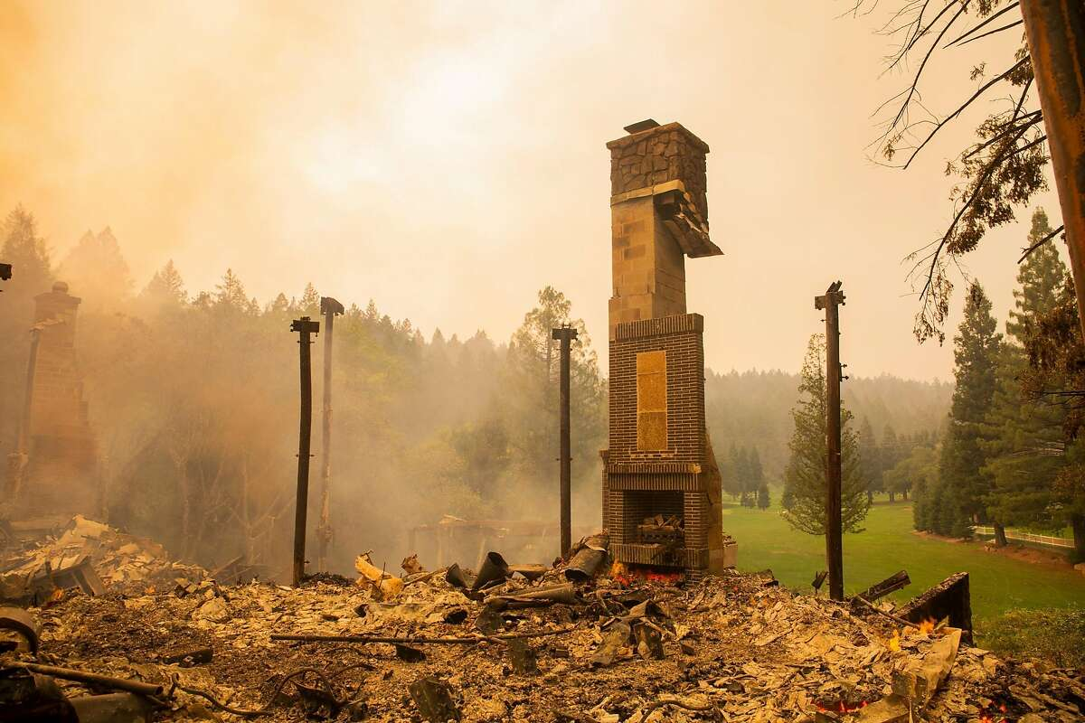 A three-star Michelin fixture for fine dining in Napa Valley, the acclaimed Restaurant at Meadowood smolders in ruin after the wind-fueled Glass Fire ripped through St. Helena.