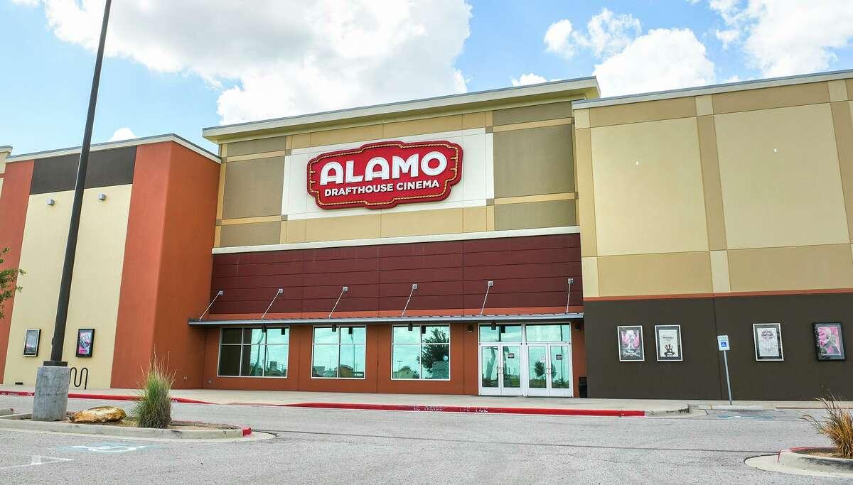Exterior view of the Alamo Drafthouse theater, Wednesday, Jun 17, 2020.