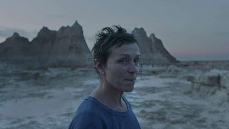 "Frances McDormand stars in ""Nomadland,"" which was the 2020 New York Film Festival's centerpiece screening. Photo: Searchlight Pictures / Contributed Photo"