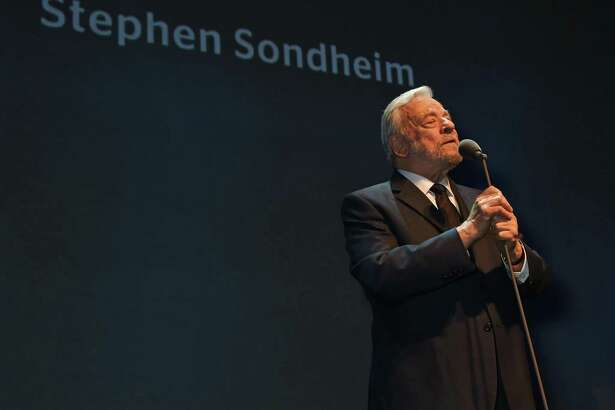 "Composer Stephen Sondheim accepted The Lebedev Award at The London Evening Standard Theatre Awards in partnership with The Ivy at The Old Vic Theatre on Nov. 22, 2015 in London, England. Recently he attended the Warner Theatre's drive-in production of his musical ""Assassins."""