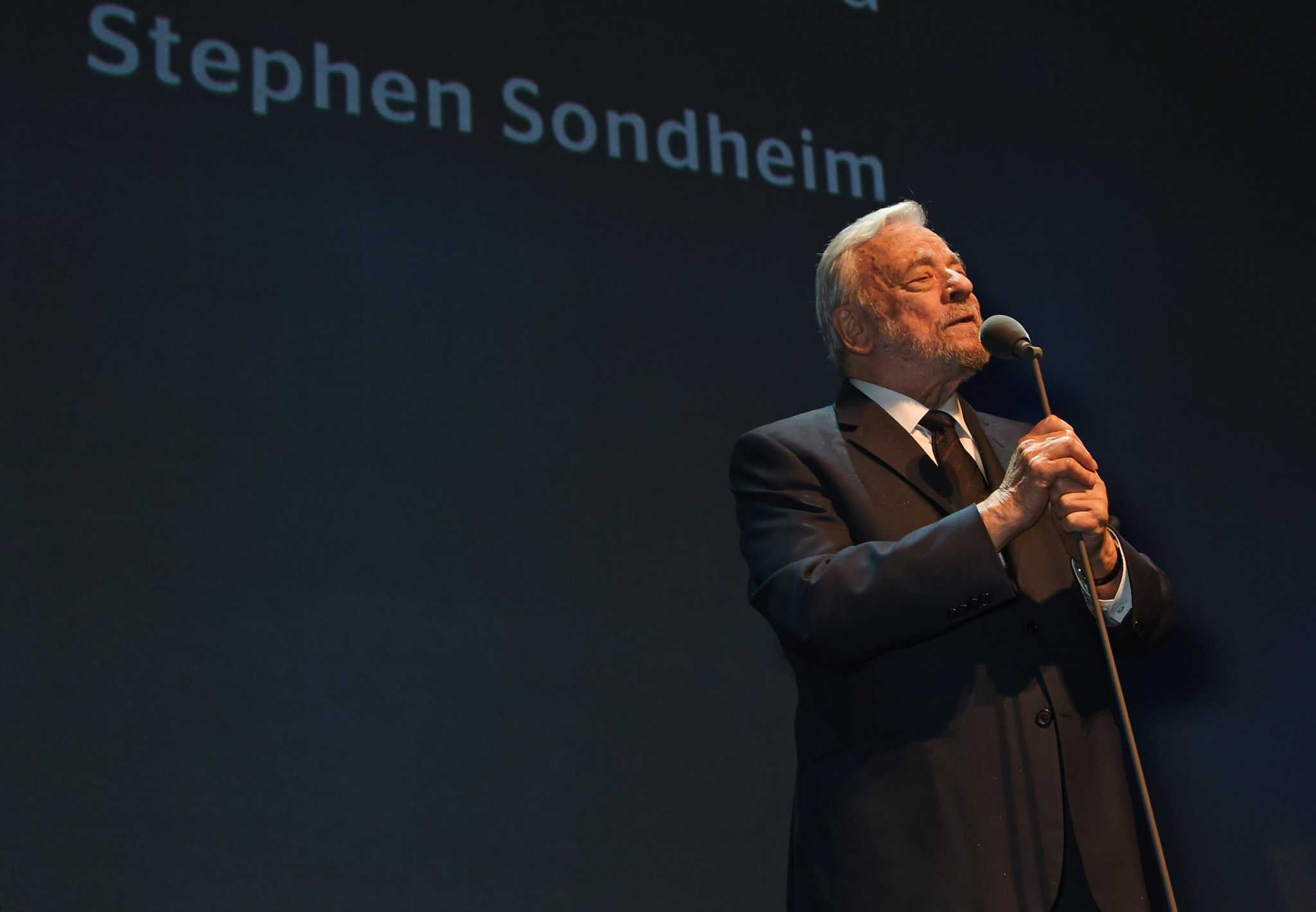 Curtain Call: Composer Stephen Sondheim attends Warner Theatre's production of 'Assassins'