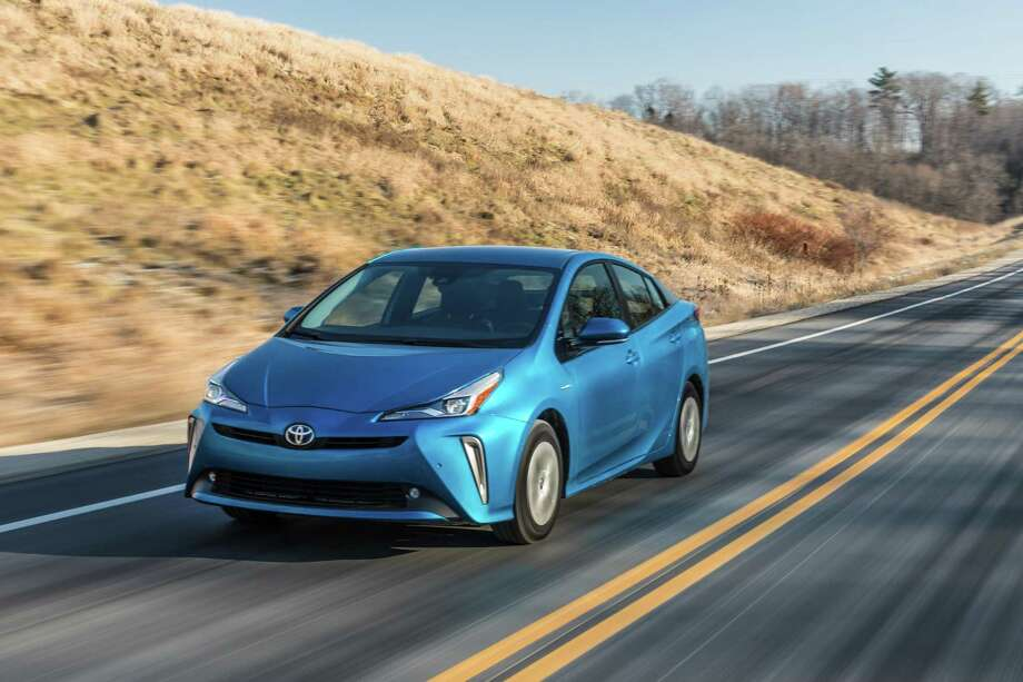 The 2020 Toyota Prius is available with all-wheel-drive. Photo: Toyota Pressroom / Contributed Photo