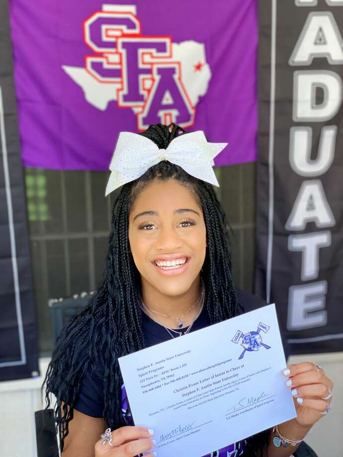 A Black cheerleader at Stephen F. Austin State University says she was awakened by police storming her dorm room on with guns drawn after a group of students made a false report that she had scissors and was threatening to stab people, according to the student's attorney, Randall Kallinen. Photo: Christin Evans/Randall Kallinen Law Firm