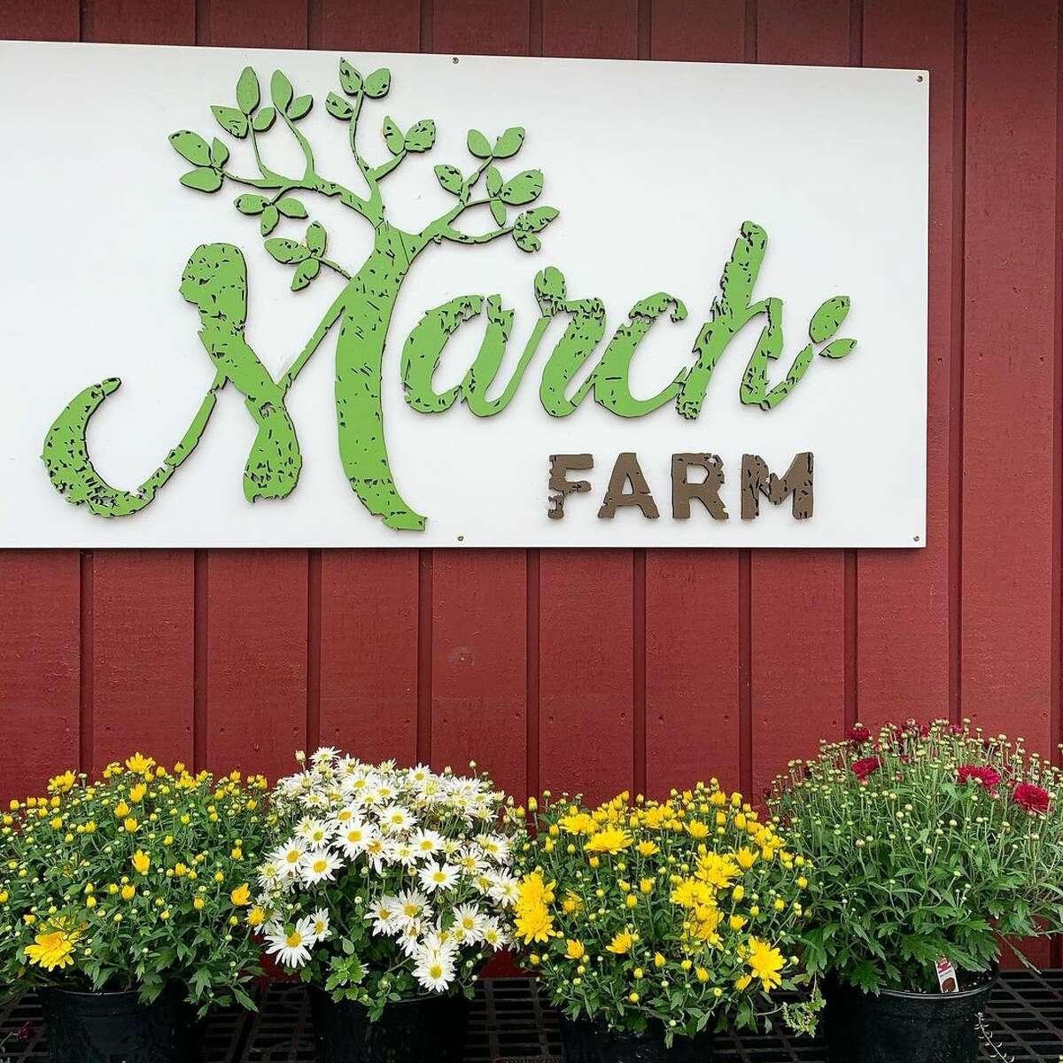 March Farm in Bethlehem, Connecticut.