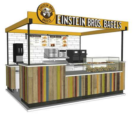 Einstein Bros. Bagels is setting up shop inside convenience stores for the first time. The company signed a five-store development deal with King Fuel in Houston.
