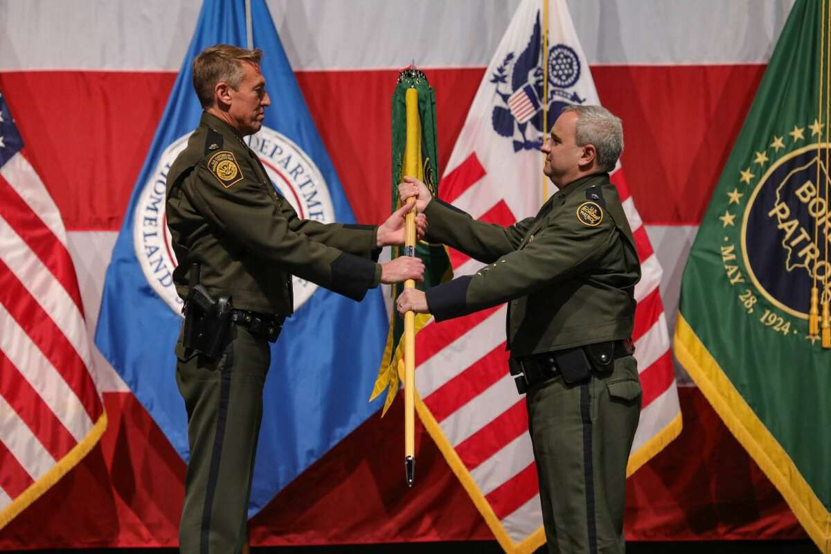 Chief Patrol Agent Matthew J. Hudak assumed command of the Laredo Sector Border Patrol during a virtual Change of Command ceremony held on Sept. 24 at the Laredo College.