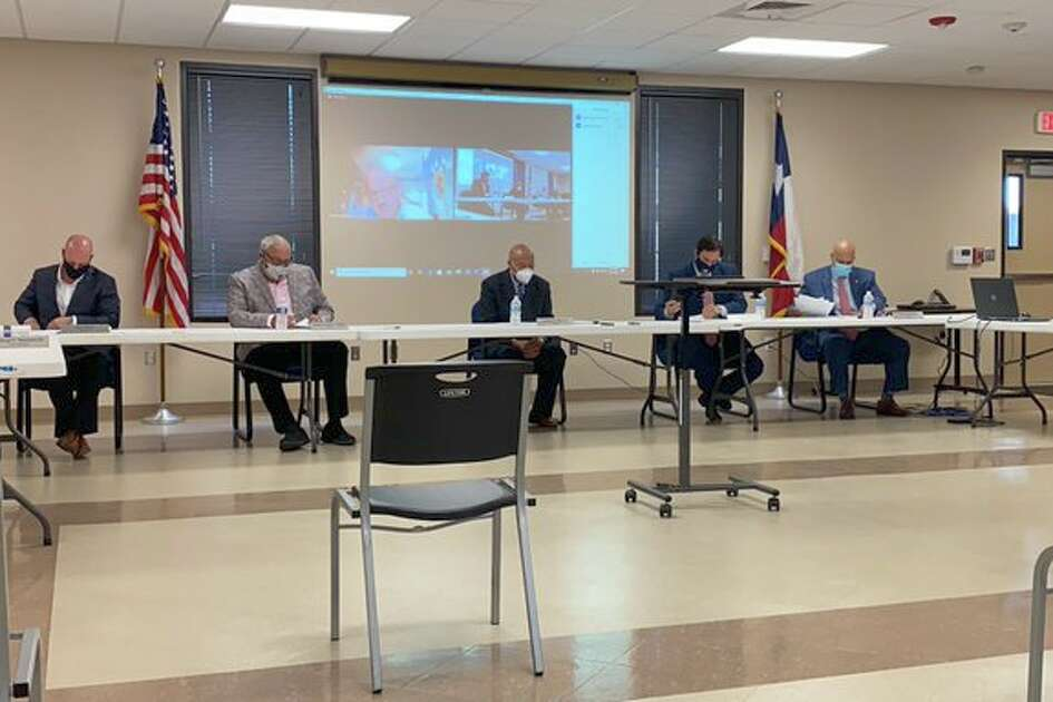 The Jefferson County Drainage District 6 board met for a hybrid in-person/Zoom meeting on Tuesday to consider revoking its previous budget approval and to approve a new budget.