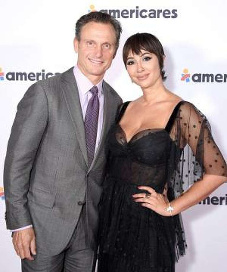Tony Goldwyn and Jackie Cruz attend the 2019 Americares Airlift Benefit in White Plains, N.Y. Photo: Bryan Bedder /Getty Images For Americares