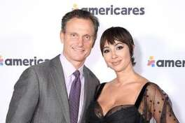 Tony Goldwyn and Jackie Cruz attend the 2019 Americares Airlift Benefit in White Plains, N.Y.