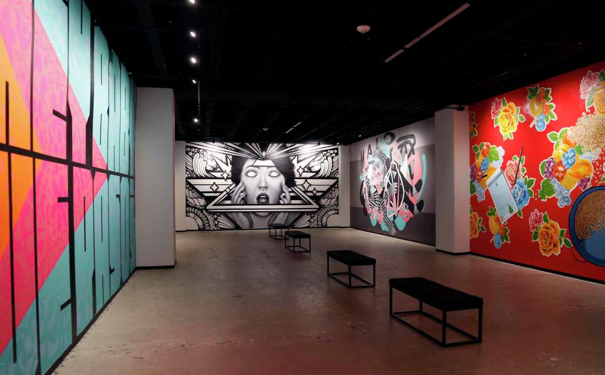 Hopscotch has partnered with local non-profit San Antonio Street Art initiative to present 'Walls Within', a street art and mural exhibition within the Hopscotch gallery.