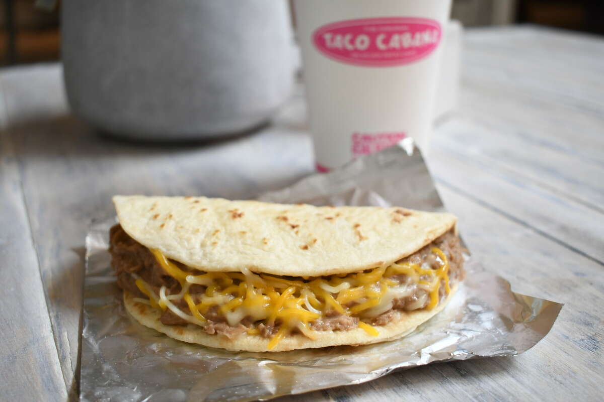 Come and get your bean and cheese tacos!