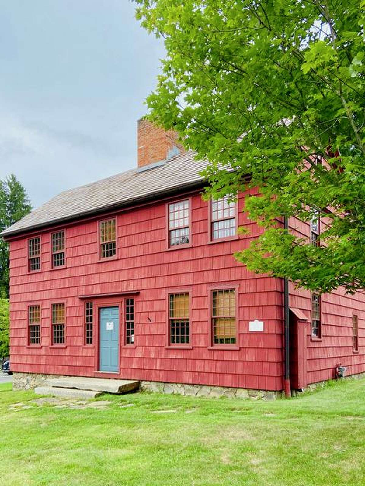 Scott House, the headquarters of the Ridgefield Historical Society.