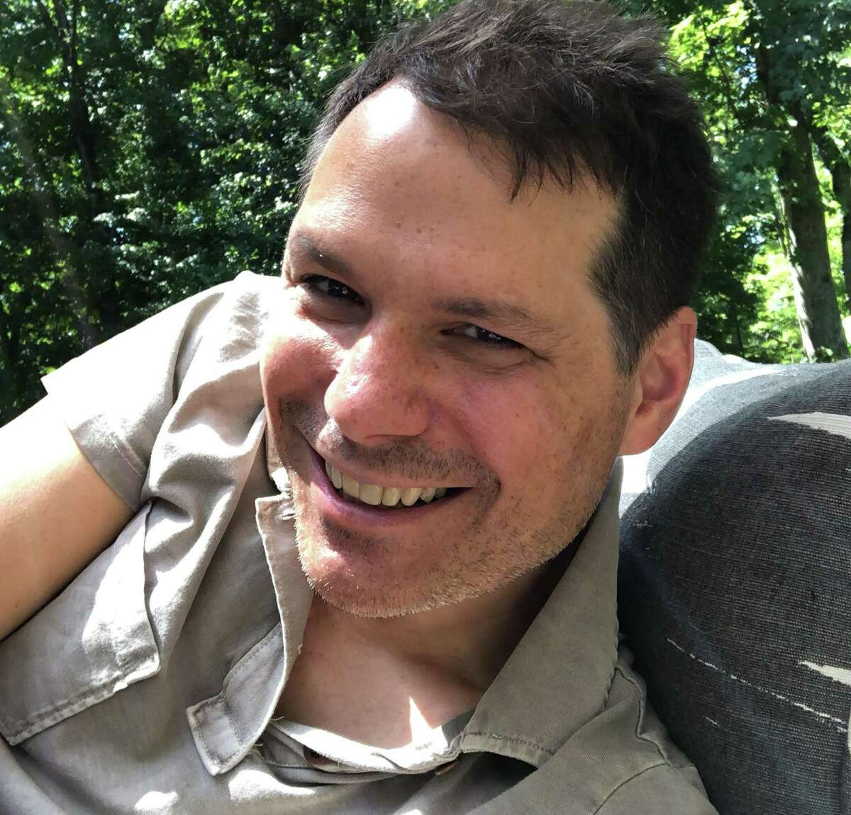 Comedian/actor and author Michael Ian Black, who lives in Redding, will perform two shows at Fairfield Comedy Club's outdoor site, in the backyard of Fairfield's Circle Hotel, Oct. 10.