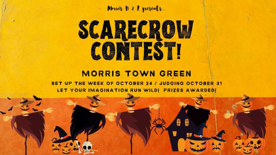 Morris Beach and Recreation is holding a scarecrow decorating contest. Photo: Contributed Photo