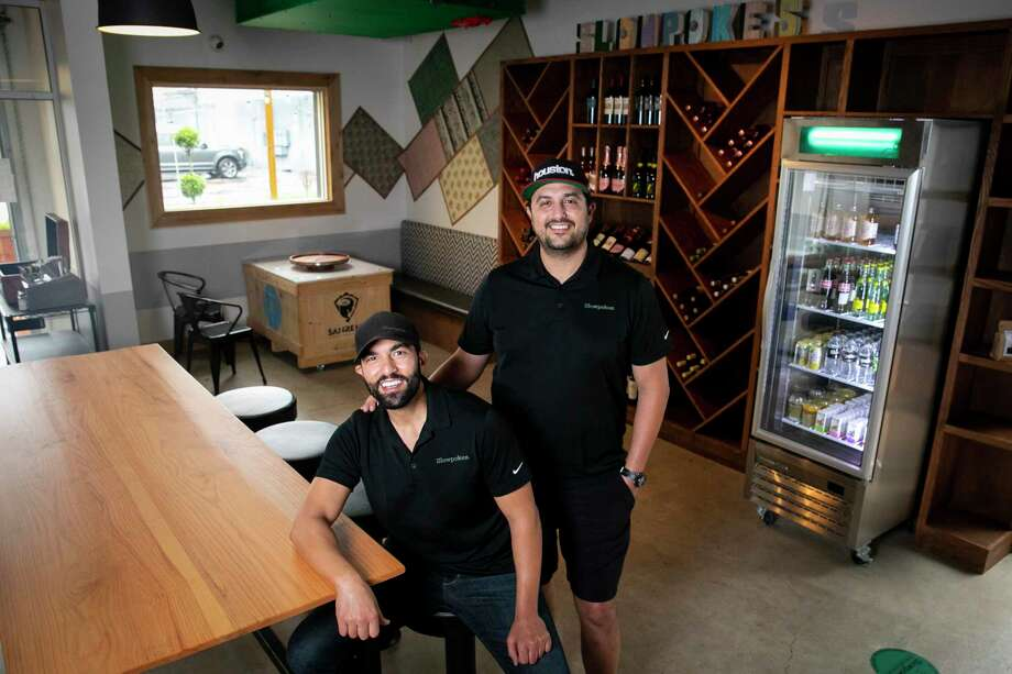 Owners and brothers Afif and Mazen Baltagi at the Spring Branch location of Slowpokes. Photo: Annie Mulligan, Contributor / © 2020 Annie Mulligan / Houston Chronicle