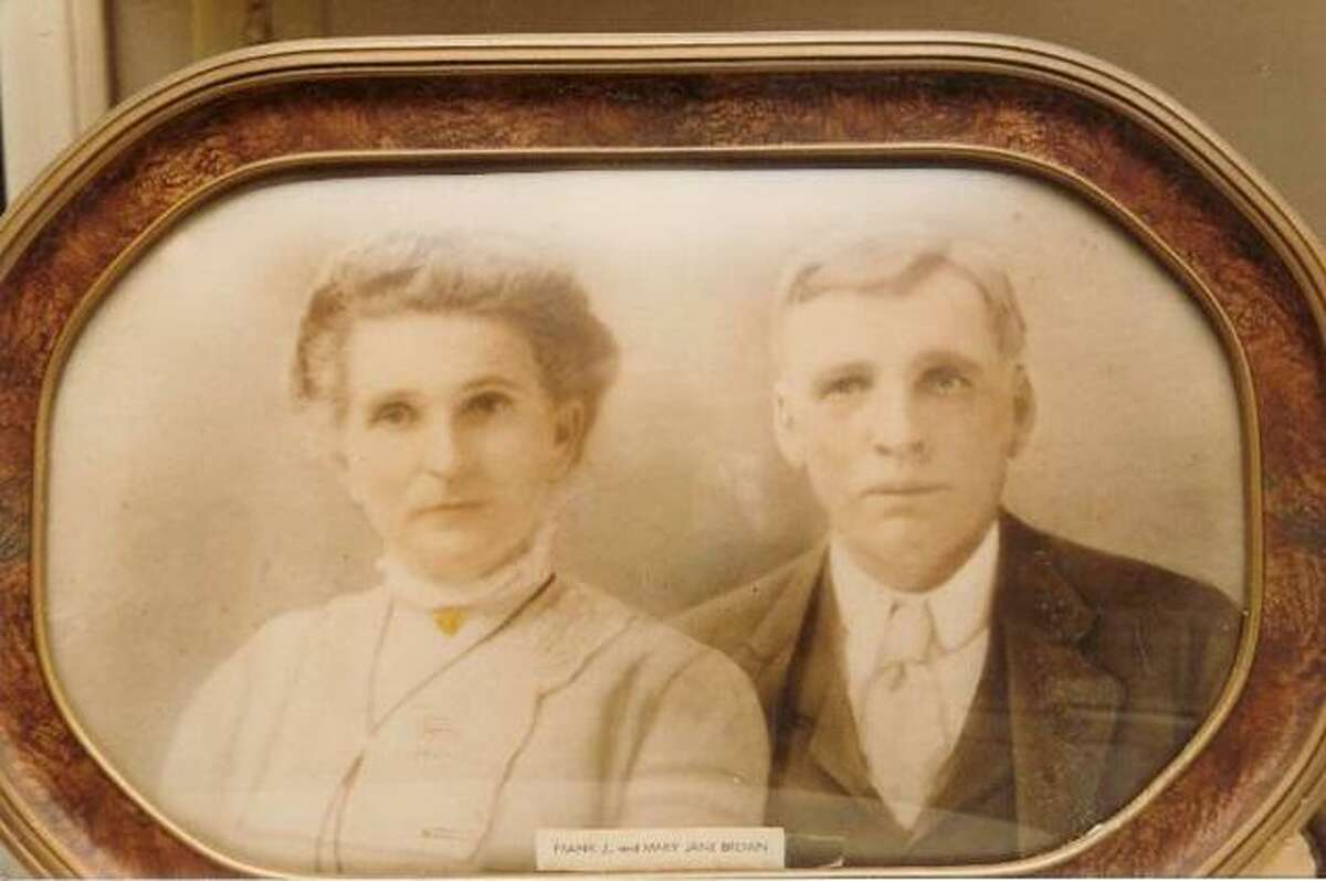 Friendswood founder Frank Brown and his wife May Jane Allen Brown. Faces from the past such of the Browns' are peppered throughout a series of short videos detailing the history of Friendswood on its 125th anniversary.