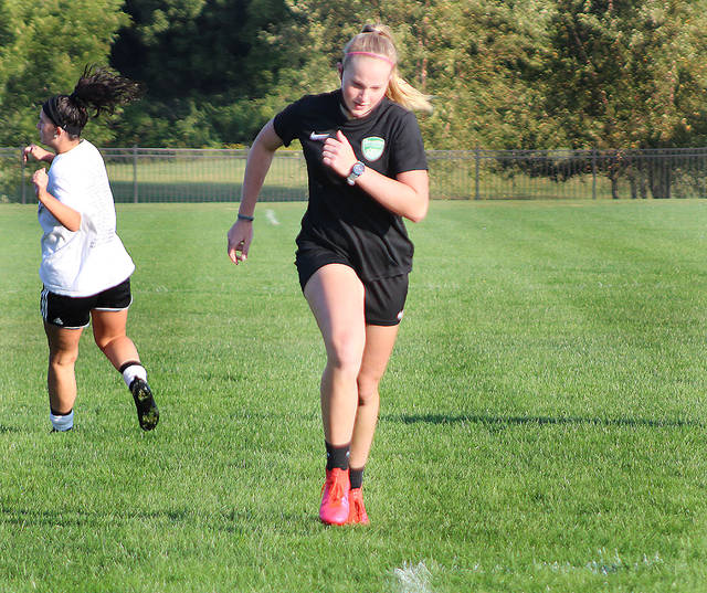 BOUND AND DETERMINED: LC's Parziani focusing on to return to soccer nationals