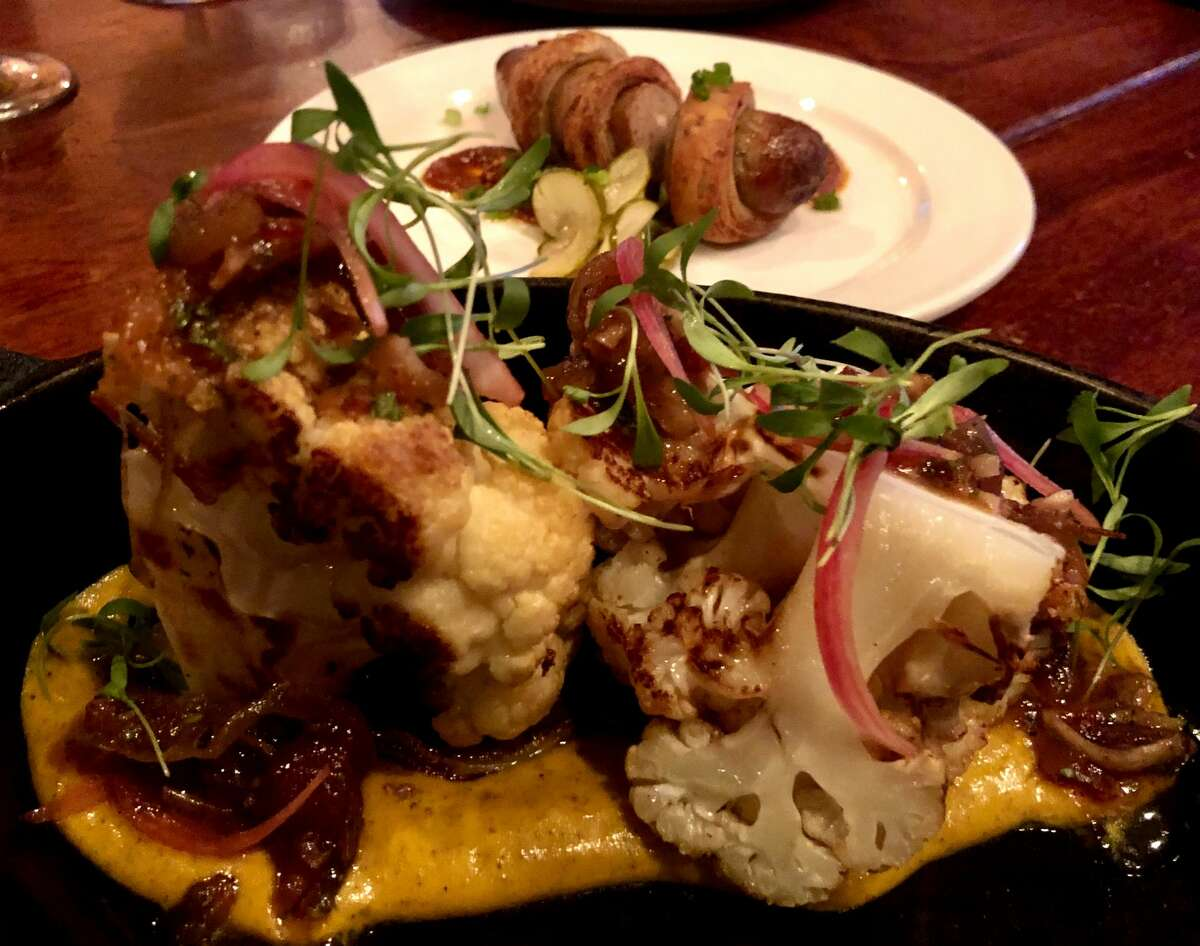 Roasted cauliflower at New World Bistro Bar in Albany. (Photo by Susie Davidson Powell for the Times Union.)
