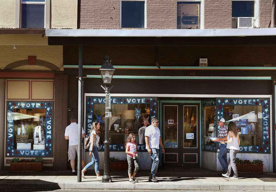 Grass Valley Hardware seen in historic downtown on Sunday, Sept. 27, 2020, in Grass Valley, Calif. Photo: Liz Hafalia / The Chronicle