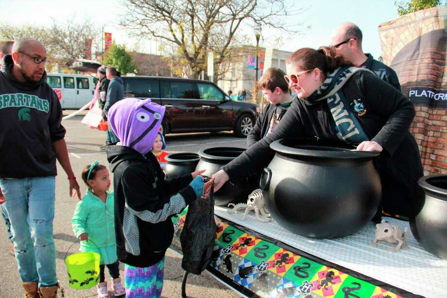 In an effort to keep Halloween safe this year, Kati Ross and RE/MAX Together will be hosting a trunk or treat event Oct. 31 in downtown Big Rapids. Featured is a photo from last year's Fall Fest. (Pioneer file photo)