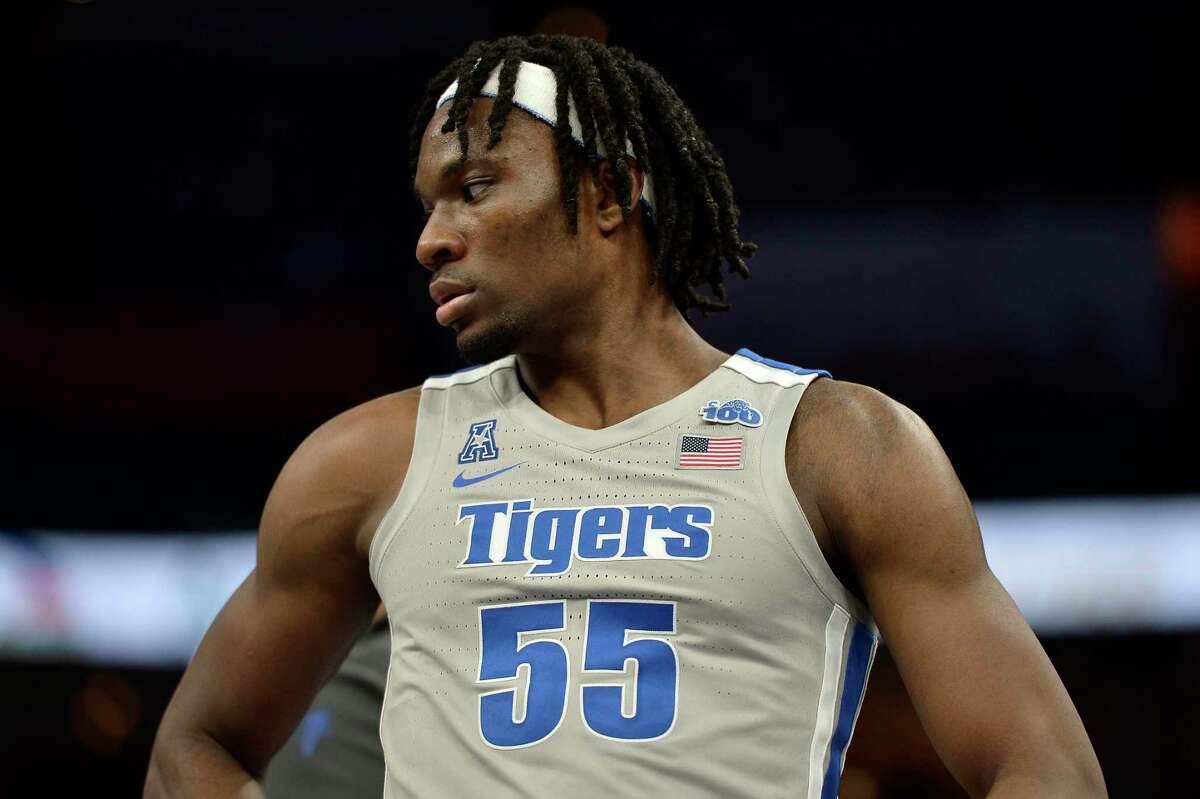 Memphis forward Precious Achiuwa averaged 15.8 points, 10.8 rebounds and 1.9 blocks as a freshman last season.
