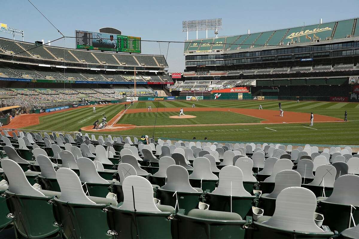 The Coliseum will host the finale of the White Sox-A's wild-card series at noon Thursday (ESPN/960).