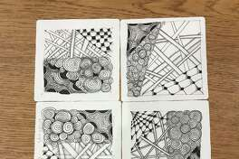 Zentangle Art Workshop: Zooming with Amy is on Oct. 14 at 3:30 p.m. and is for adults and teens, ages 13 and up. Registration required at wiltonlibrary.org.