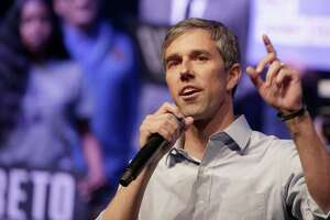 GRAND PRAIRIE, TX - OCTOBER 17: Democratic presidential candidate, former Rep. Beto O'Rourke (D-TX) speaks during a campaign rally on October 17, 2019 in Grand Prairie, Texas. O'Rourkes Rally Against Fear was held to counter President Trump's campaign rally today in Texas. (Photo by Ron Jenkins/Getty Images)