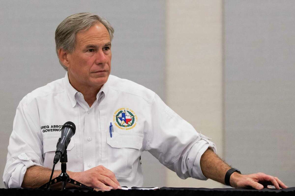 Texas Governor Greg Abbott visits Lake Jackson on Tuesday, Sept. 29, 2020 and provides updates on the deadly ameba found in the City of Lake Jackson's water supply.
