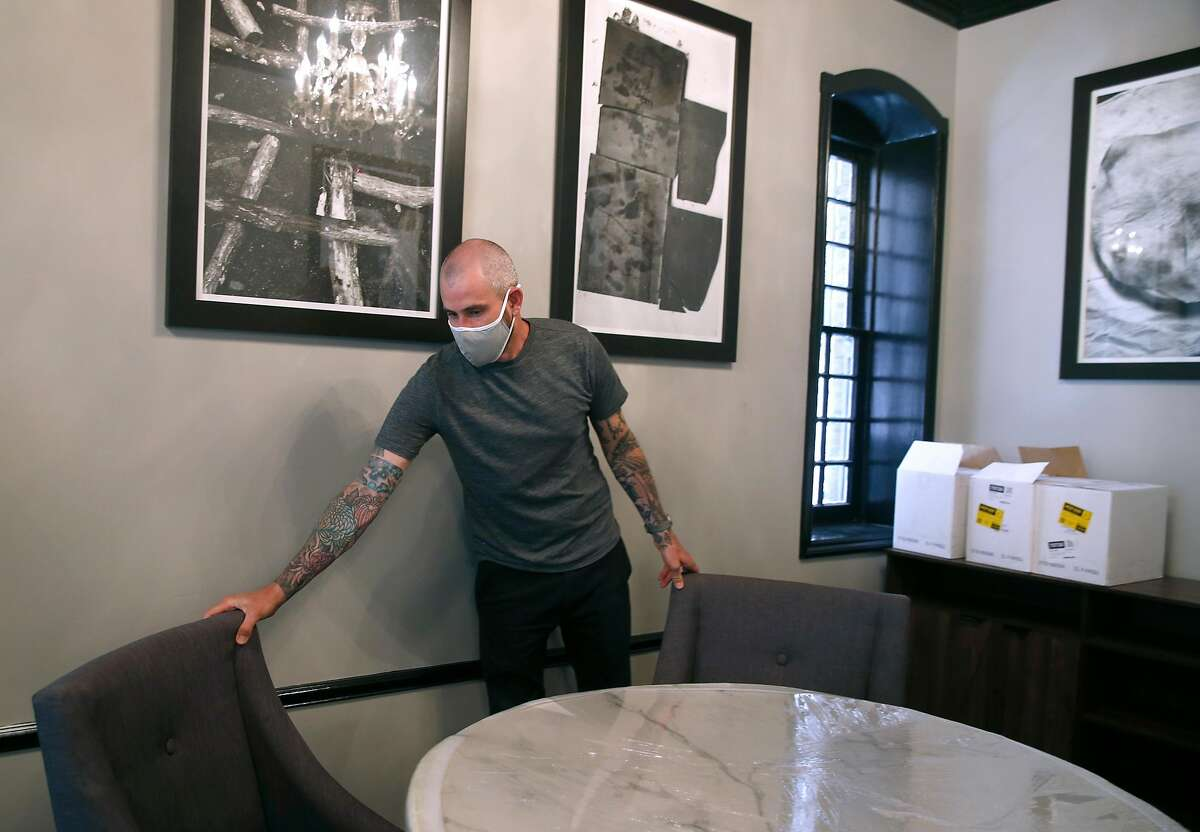 Sons & Daughters owner Teague Moriarity was preparing to reopen in July, before S.F. officials postponed plans to allow indoor dining at restaurants.