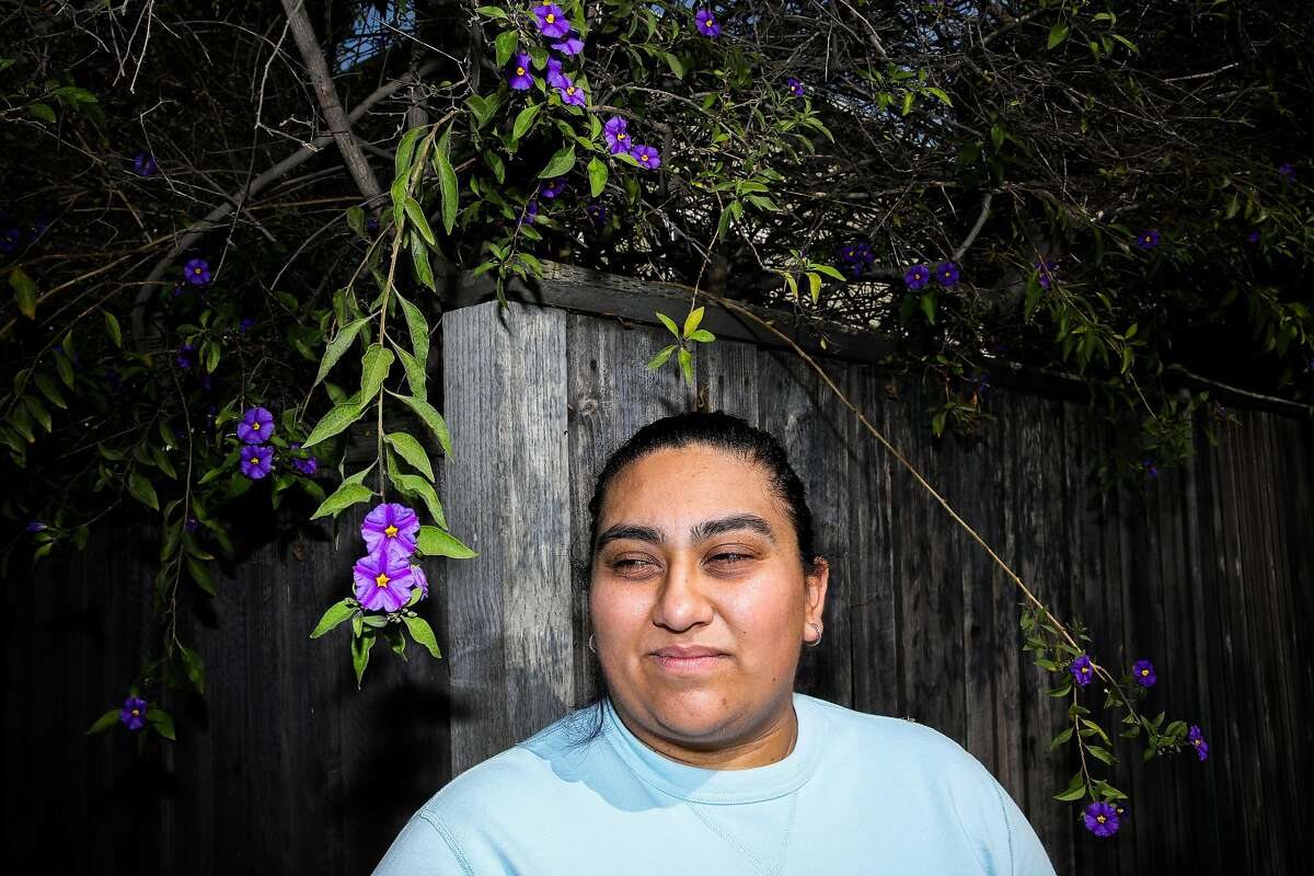Nallely Camacho used to work at a hotel. A bill vetoed by Gov. Gavin Newsom would have given her and other laid-off workers some rights to return to their old positions if their employers began rehiring.