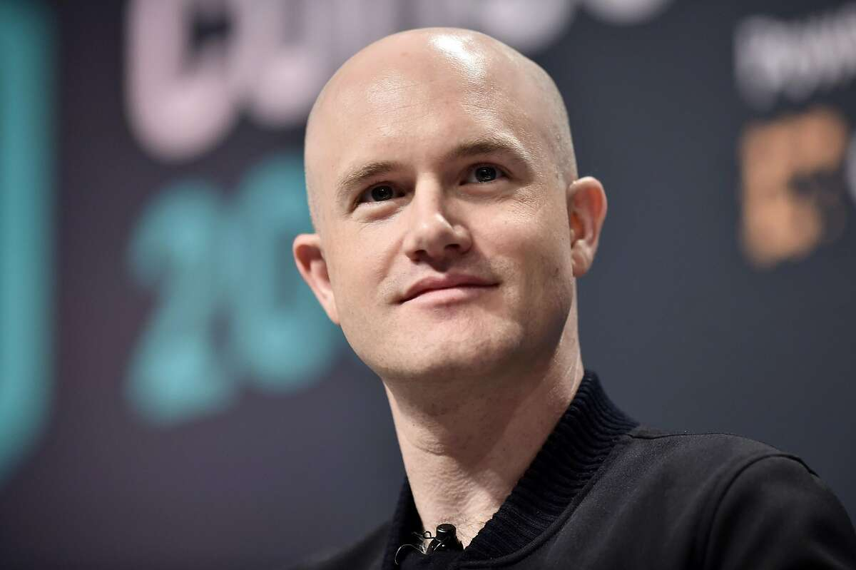 Coinbase CEO Brian Armstrong attends Consensus 2019 at the Hilton Midtown in New York City in 2019.