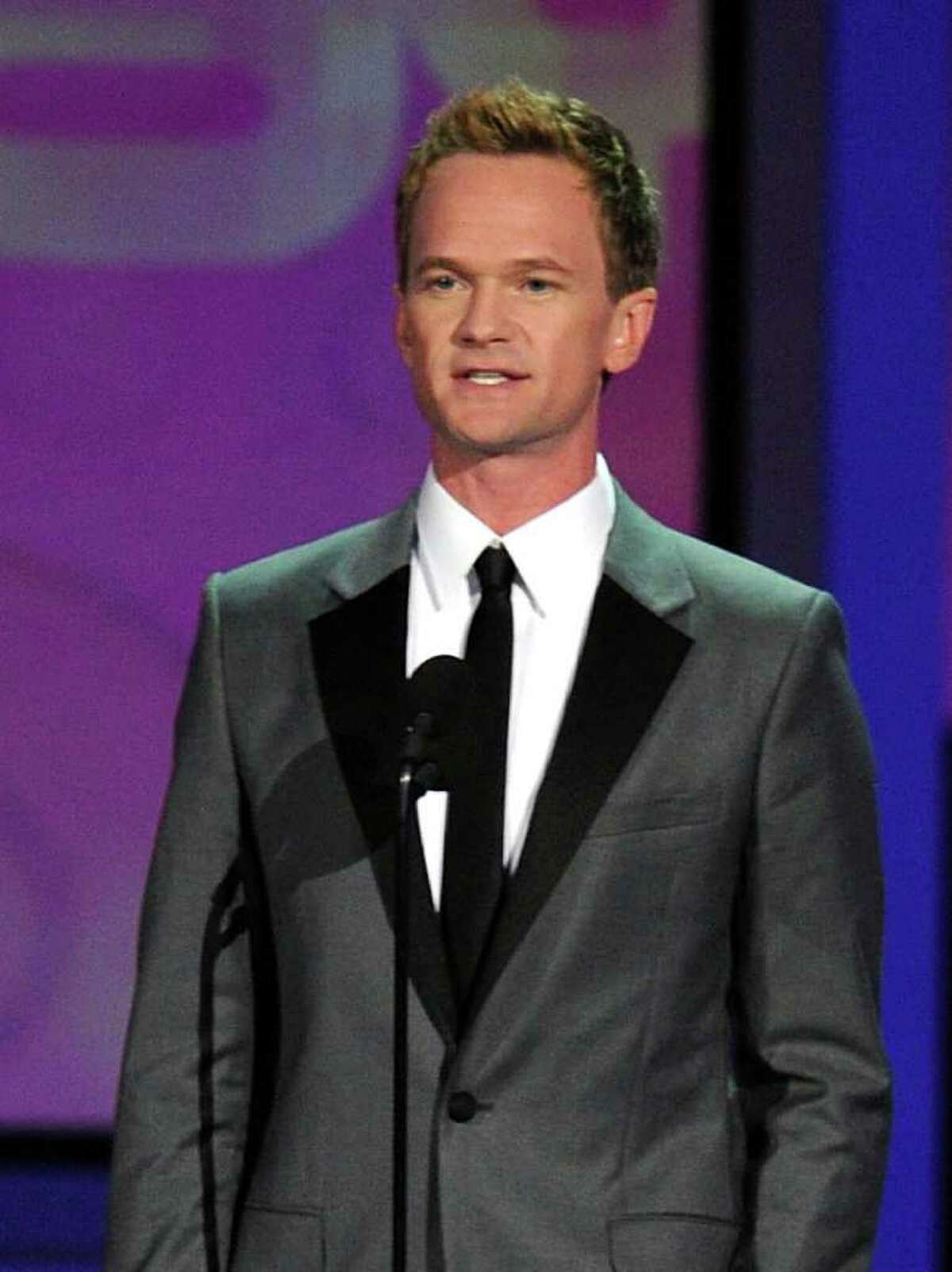 LOS ANGELES, CA - AUGUST 29: Actor Neil Patrick Harris speaks onstage at the 62nd Annual Primetime Emmy Awards held at the Nokia Theatre L.A. Live on August 29, 2010 in Los Angeles, California. (Photo by Kevin Winter/Getty Images) *** Local Caption *** Neil Patrick Harris