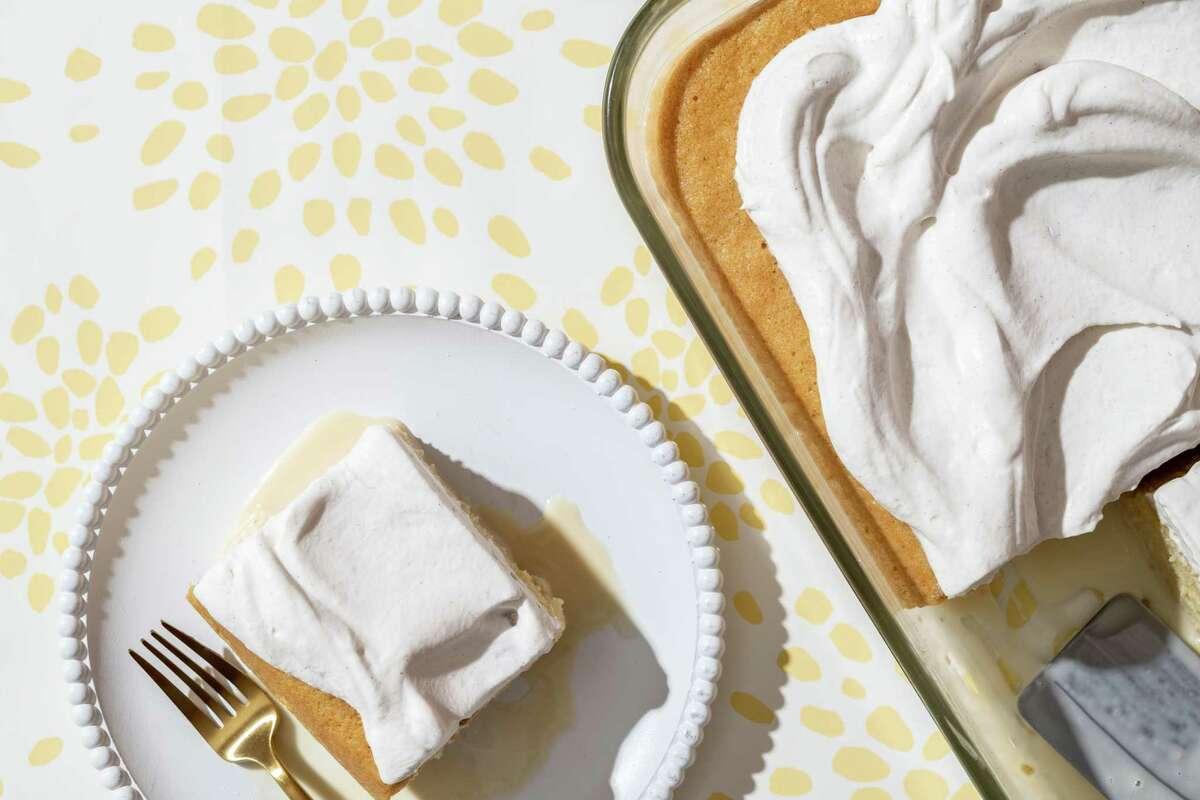 Tres Leche Cake.