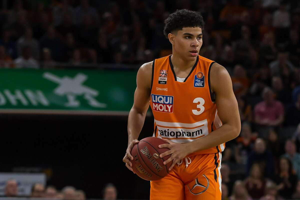Killian Hayes played for Ratiopharm Ulm of the German League last season. The 6-foot-5 point guard known for his court vision and passing is expected to be a top-10 pick in the NBA draft.