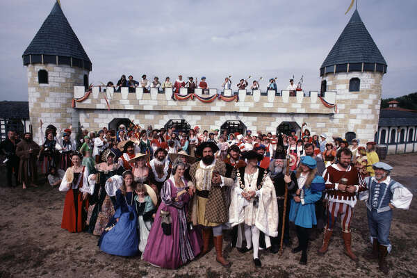 The Texas Renaissance Festival (October 3 - November 29) is the perfect event to grab your friends and have fun outdoors!
