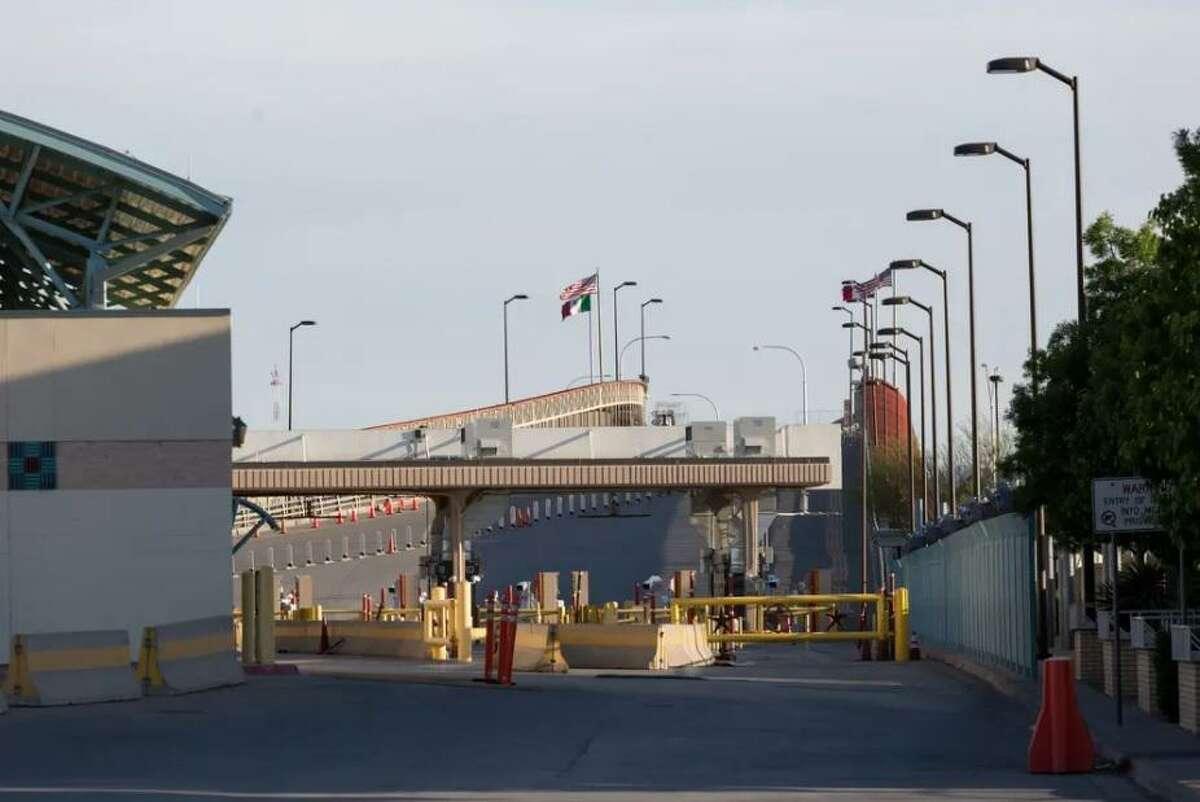 The Paso del Norte Bridge between El Paso and Ciudad Juárez was closed to nonessential traffic in April because of the coronavirus pandemic.