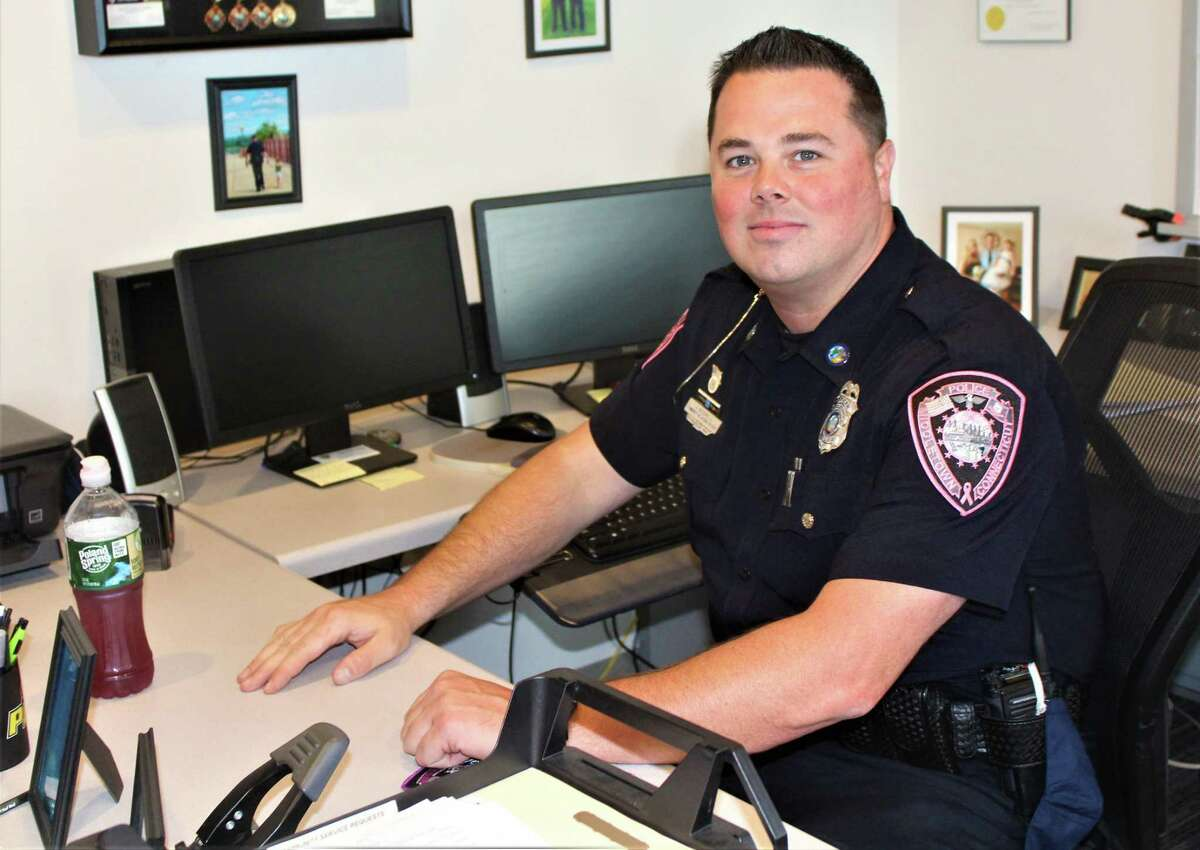 Middletown Police Community Relations Officer Jay Bodell