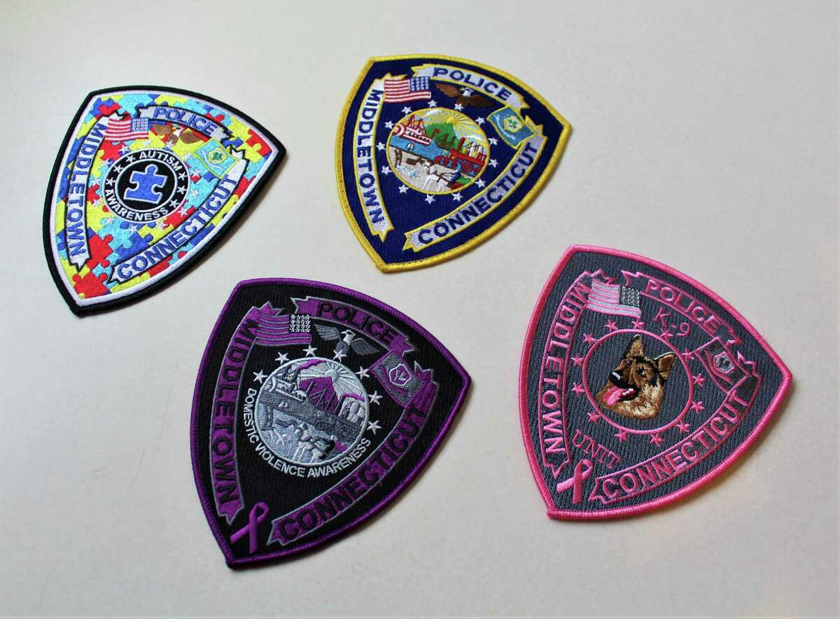 Middletown police are selling pink K-9 in honor of Breast Cancer Awareness Month. They also have a limited number of other badges for sale - including those for autism and domestic violence awareness.