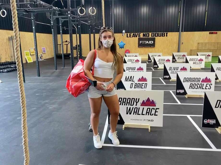 Greenwich resident Brady Wallace, 17, recently competed in the Elite Teen Throwdown, sanctioned by the CrossFit Games, in Michigan. Photo: Contributed Photo